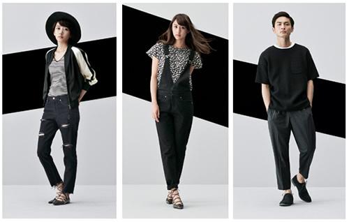 価格を気にせず「ファッションを、もっと自由に。」お楽しみいただけるブランド「ジーユー」は、クールなモノトーンスタイル「MONOTONE」を本日より、全国のジーユー